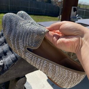 Sparkly Steve Madden loafers